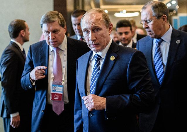 Vladimir Putin al G20 in Turchia