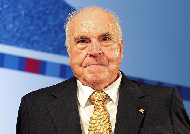 L'ex cancelliere tedesco Helmut Kohl