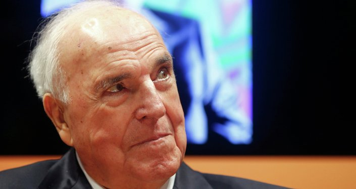 Ex-cancelliere Helmut Kohl