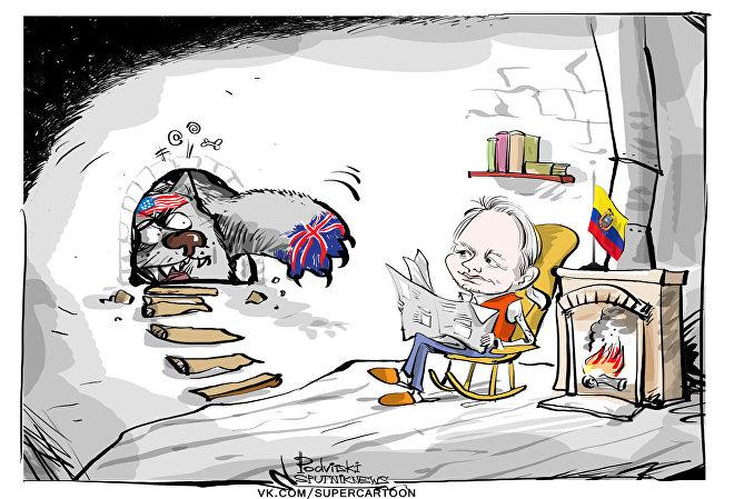 Assange: nel limbo dell'ambasciata dell'Ecuador da cinque anni a Londra
