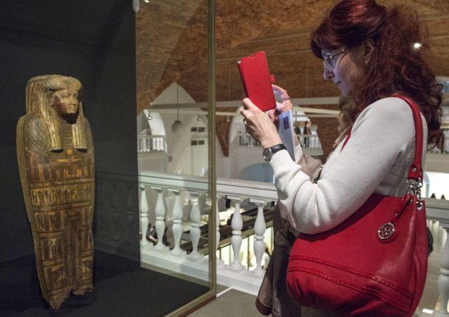 Le meraviglie del Museo Egizio all' Hermitage di San Pietroburgo