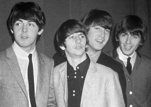 The Beatles, from left, Paul McCartney, Ringo Starr, John Lennon and George Harrison, are shown in this November 1963 photo.
