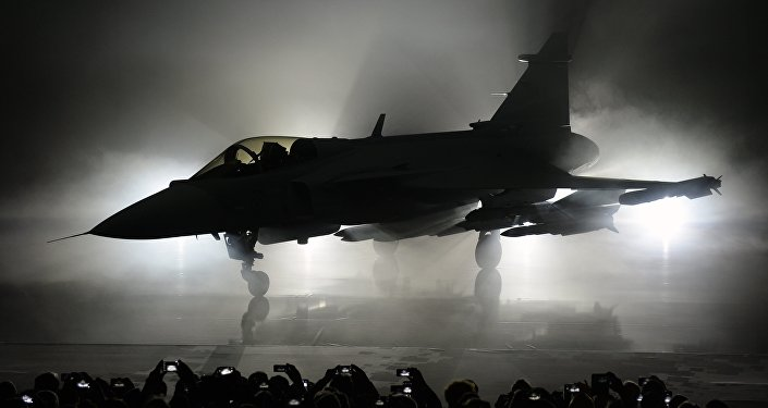 Caccia svedese Gripen