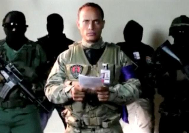 Il poliziotto ribelle venezuelano Oscar Perez