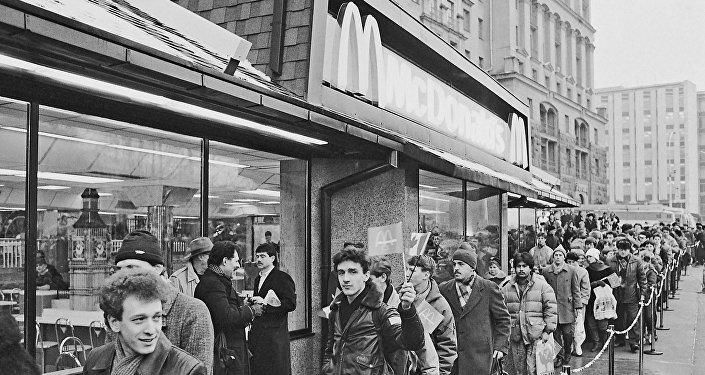 31 gennaio 1990: apertura del primo McDonald's a Mosca