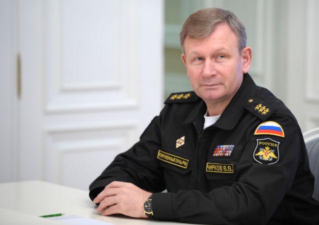 Ammiraglio Viktor Chirkov, comandante della marina russa