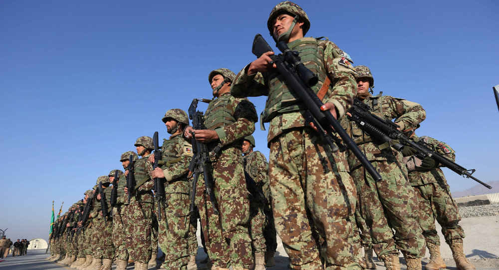 Forze di sicurezza afghane. Afghanistan