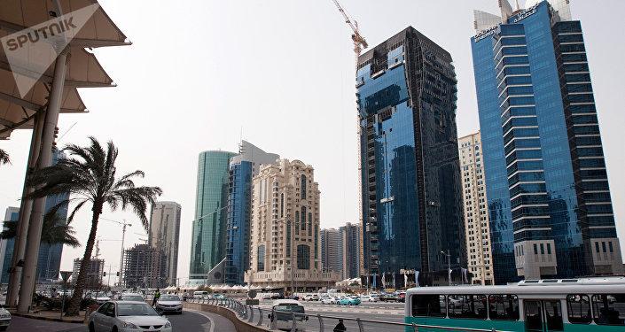 Doha, la capitale del Qatar