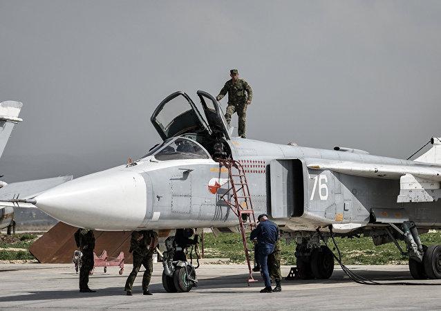 Base aerea russa ad Hmeimim in Siria
