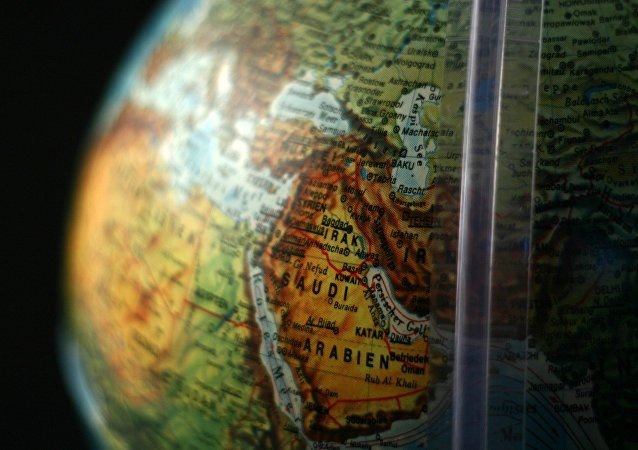 Una mappa del Medio Oriente
