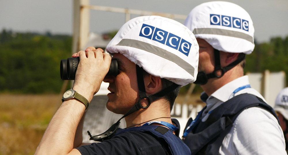 Osservatori dell'OSCE nel Donbass