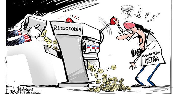 Vincita garantita nel gioco della russofobia