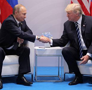 Donald Trump e Vladimir Putin s'incontrano ai margini del vertice G20 di Amburgo