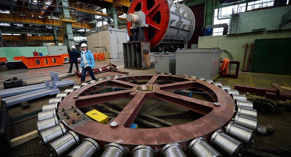 Macchinario in fabbrica russa