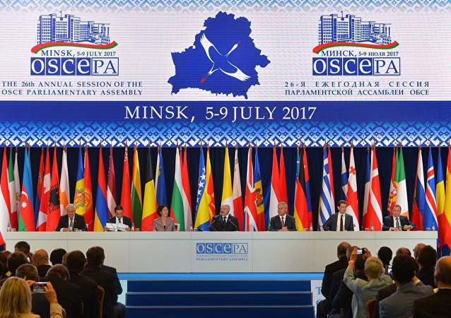 OSCE Parliamentary Assembly session