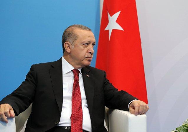 Erdogan al G20 di Amburgo