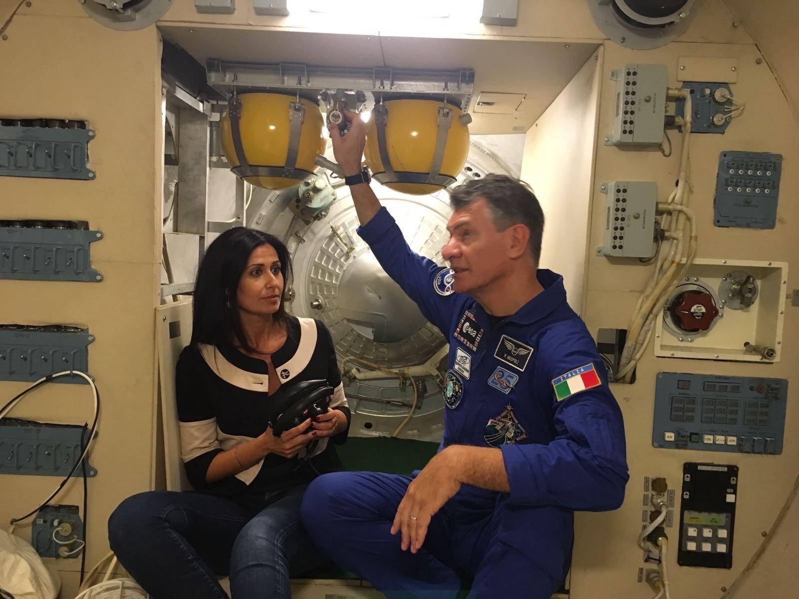 Alessandra Bonavina e Paolo Nespoli