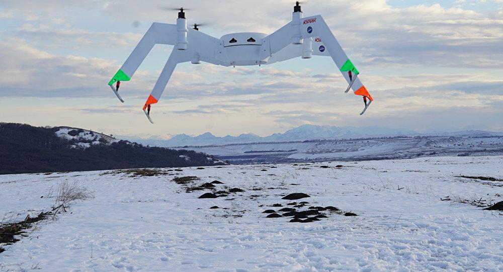 Il drone che sarà presentato al salone MAKS-2017