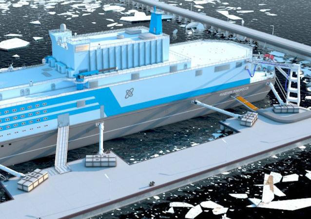 Centrale nucleare galleggiante Lomonosov