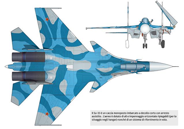 Caccia imbarcato Su-33