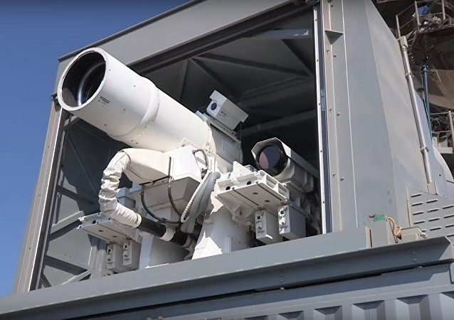 Laser Weapon System (LaWS) demonstration aboard USS Ponce