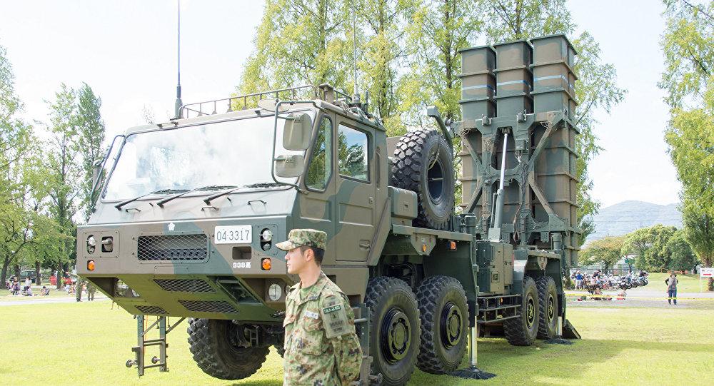 Type 03 Medium-Range Surface-to-Air Missile, The 61th Memorial Ceremony, Camp Katsura, JGSDF