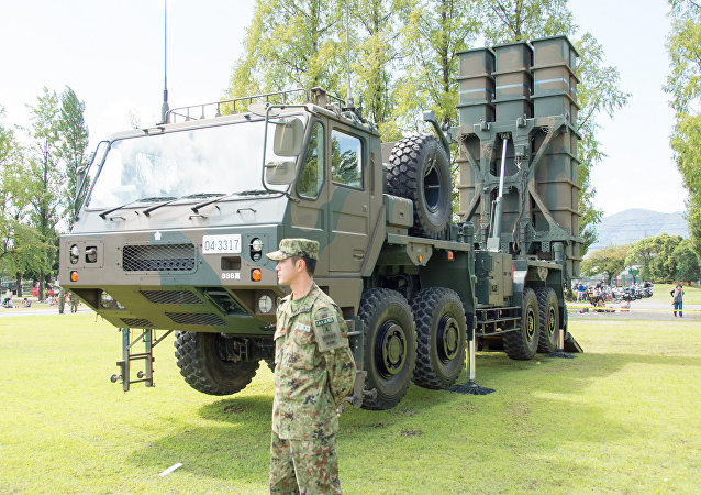 Type 03 Medium-Range Surface-to-Air Missile, The 61th Memorial Ceremony, Camp Katsura, JGSDF