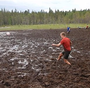 Calcio sul fango: i russi vincitori dei mondiali