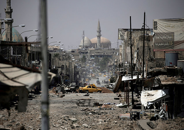 Mosul distrutta dalla guerra (foto d'archivio)