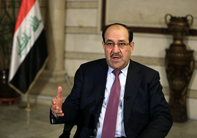 il vice presidente dell'Iraq, Nouri Maliki