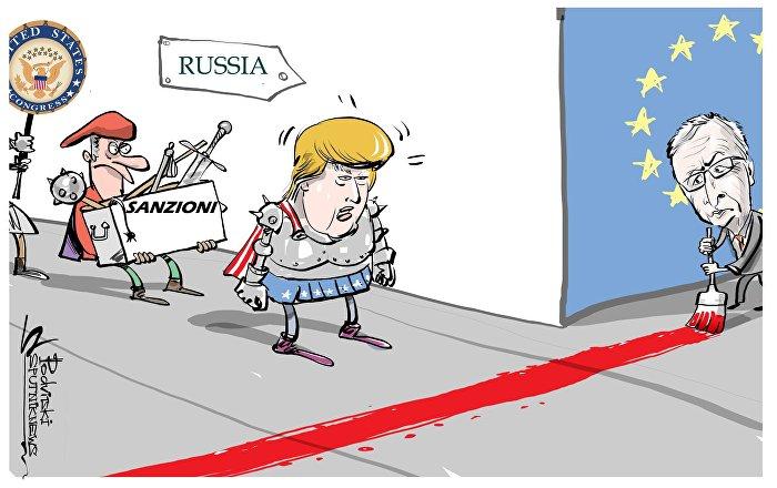 Il presidente della Commissione Europea Jean-Claude Juncker ha chiesto di discutere con urgenza la possibile risposta di Bruxelles in caso di introduzione di nuove sanzioni degli Stati Uniti contro la Russia, scrive il Financial Times.