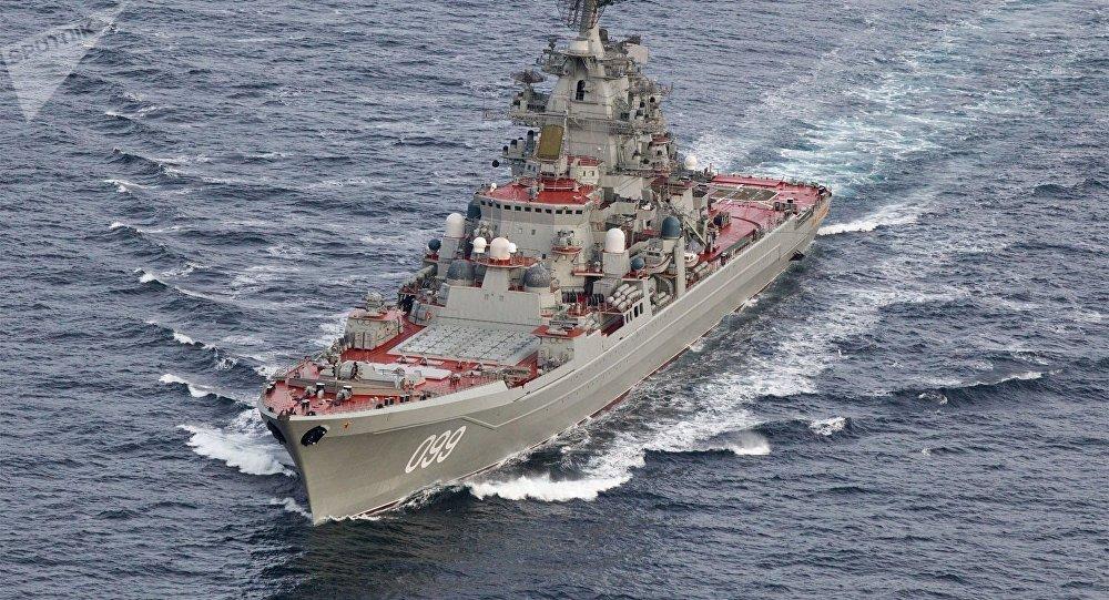 L'incrociatore pesante nucleare Petr Velikij