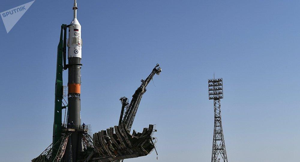 """Il razzo-vettore """"Soyuz"""