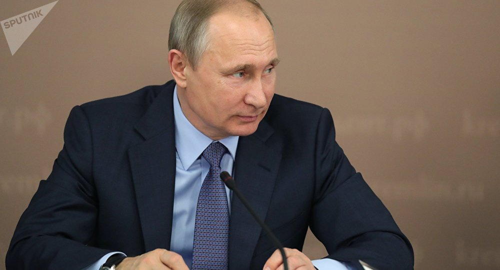 Il presidente russo Vladimir Putin.