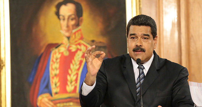 El presidente de Venezuela Nicolas Maduro
