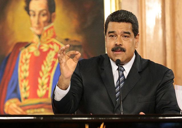 Presidente venezuelano Nicolas Maduro