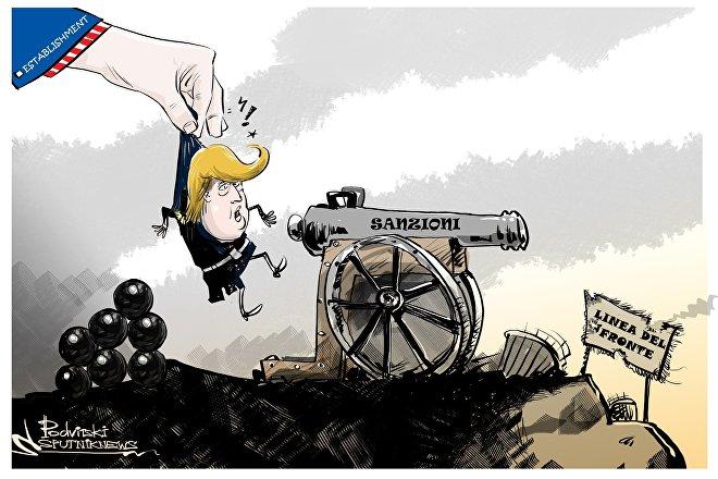 Trump e sanzioni