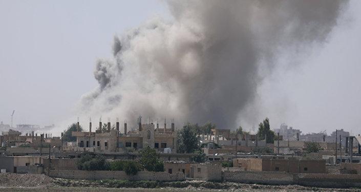 Raqqa, Siria