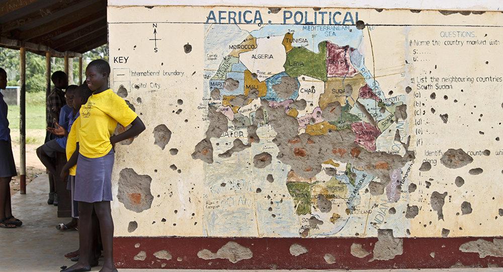 Risultati immagini per E' VERO, L'AFRICA CONTINUA AD ESSERE UNA TERRA DI CONQUISTA