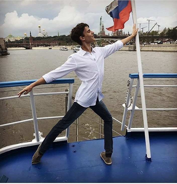 Marco in gita a Mosca