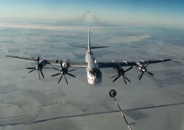 Bombardiere strategico russo Tu-95MS