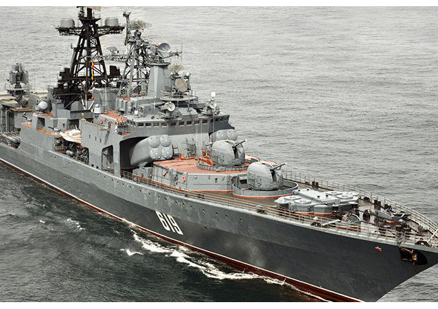 Nave anti-sommergibile Severomorsk (foto d'archivio)