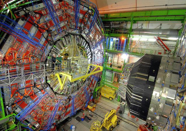 Acceleratore di particelle in Europa (foto d'archivio)
