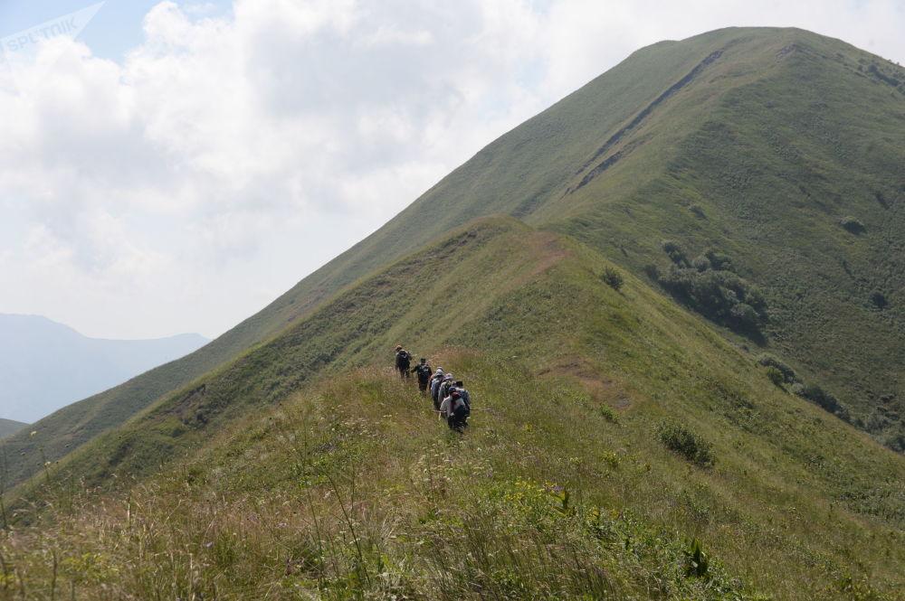 Le montagne della Cecenia
