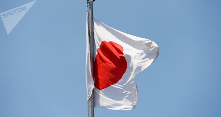 La bandiera giapponese