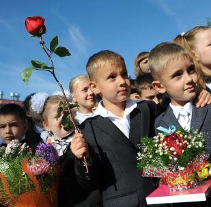 Il primo giorno di scuola in Russia
