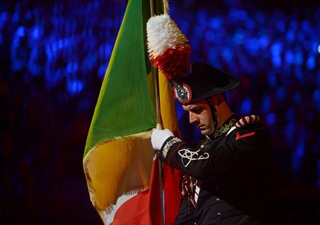 Gli italiani al festival Torre Spasskaja