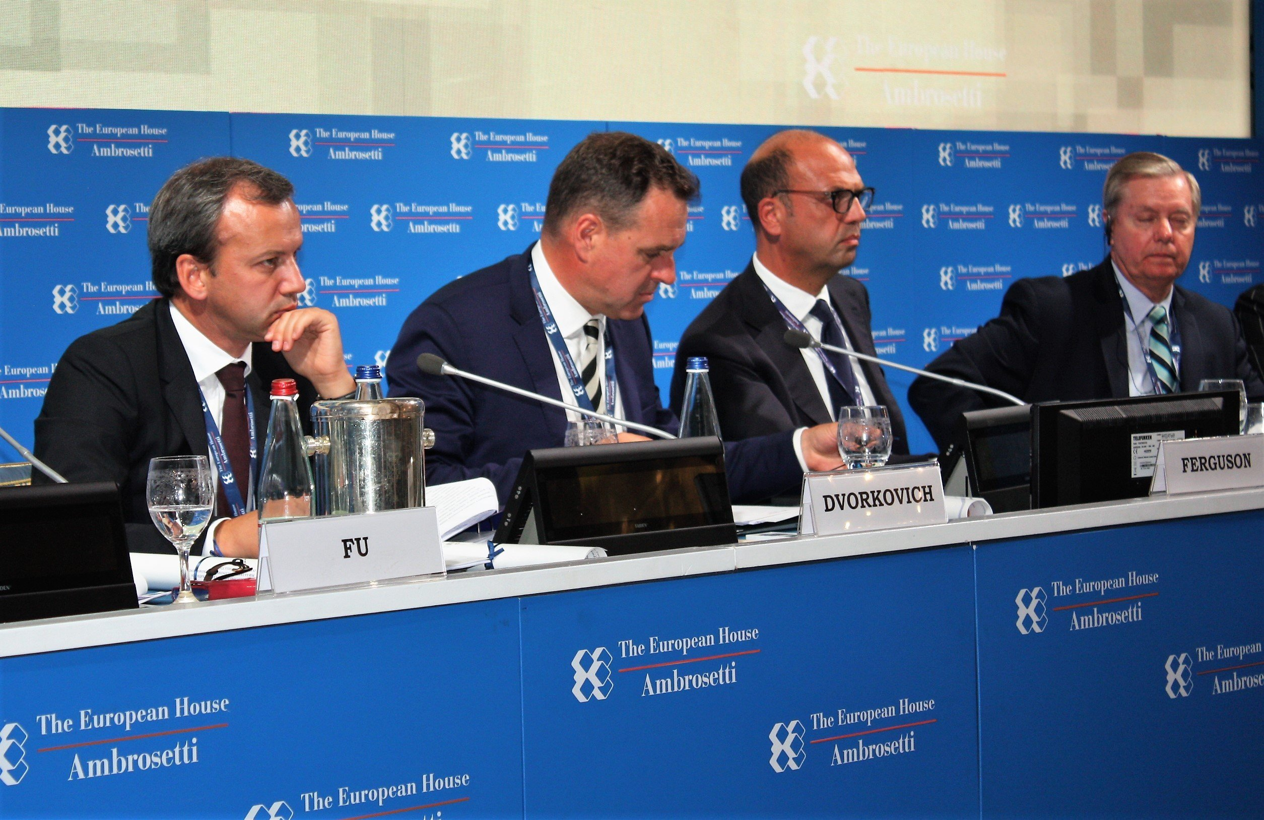 Al Forum The European House – Ambrosetti a Cernobbio.