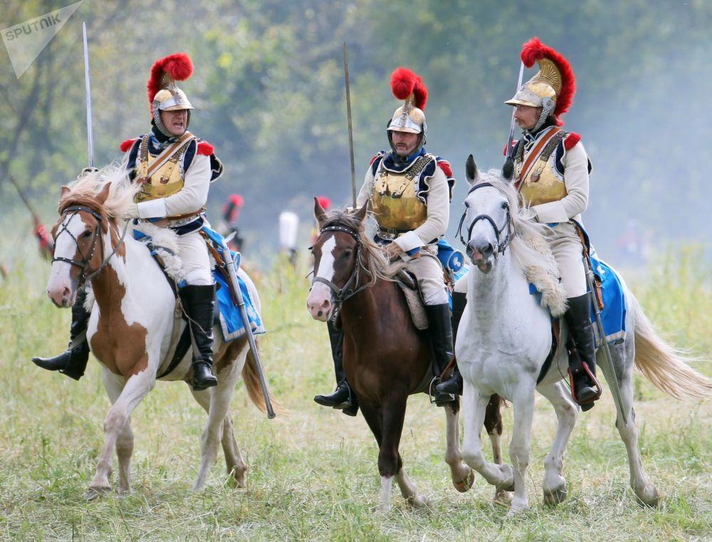 Ricostruzione della battaglia di Borodino