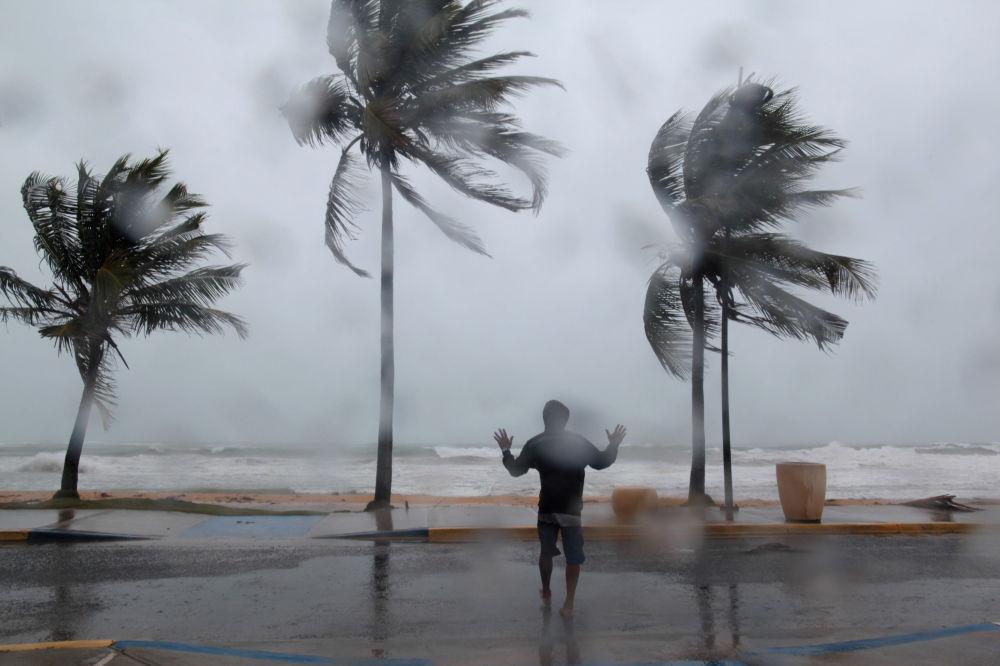 L'uragano Irma in Puerto Rico.